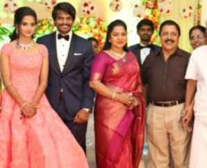 Esakki Kishore Chandra Roshini Wedding Reception