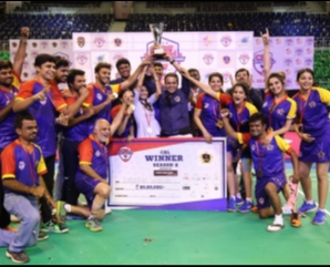 Karnataka Warriors win the CBL - Season 2