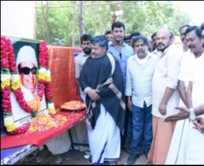Sandakozhi 2 Team celebrate MGR 101th Birthday