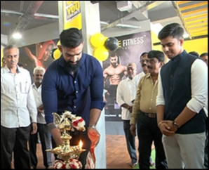 Actor Bharat Raj Launch Carve Fitness Center