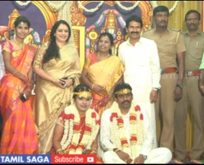 ACTRESS SEETHA @ DURAI RAMACHANDRAN DAUGHTER WEDDING FUNCTION