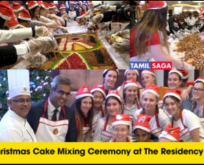 Christmas Cake Mixing Ceremony at The Residency Hotels