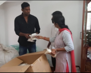 Vishal Helped Delta People