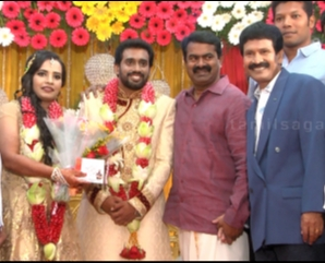 Celebraties @ Durai Ramachandran Daughter Wedding Reception