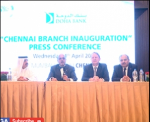 DOHA BANK PRESS MEET