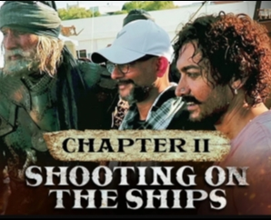Making of Thugs Of Hindostan Chapter 2 - Shooting on the Ships