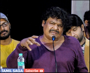 Mansoor Ali Khan Angry Speech @ PadiththavudanKizhithuvidavum Audio Launch