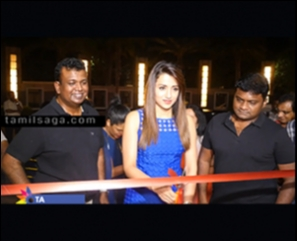 Trisha Launch CHAO - PAN ASIAN FINE DINING - VIDEO